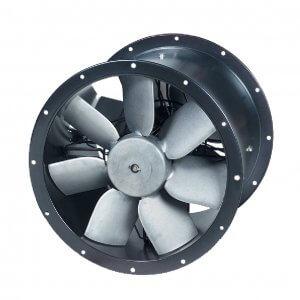 TCBTx2 TCBBx2 cased axial fan